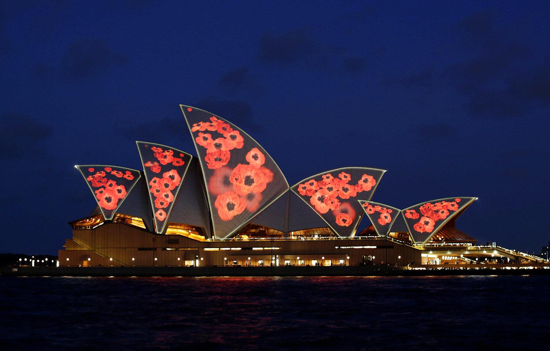 Rememberance Day Sydney Opera House